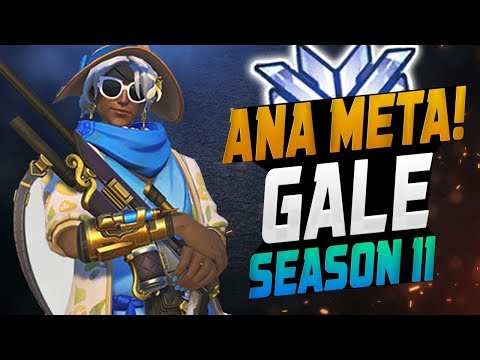 4082 GAMES AS ANA! Gale - best Ana? [ OVERWATCH SEASON 11 TOP 500 ] thumbnail