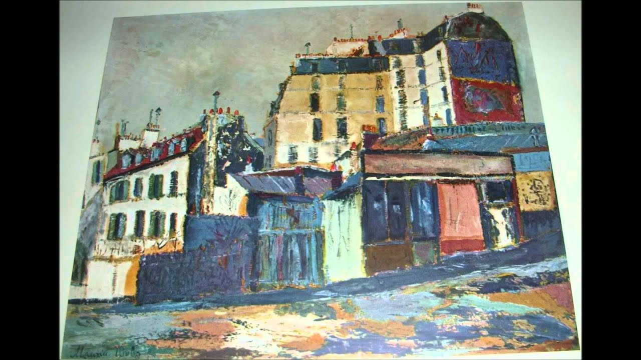 Tire For Less >> MAURICE UTRILLO - YouTube