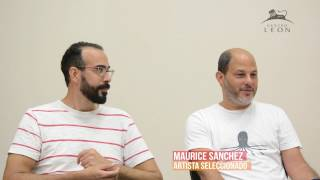 Centro León. Entrevista a Joan Díaz y Maurice Sánchez.