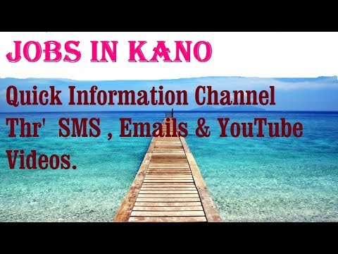 Jobs in KANO  City for freshers & graduates. industries, com