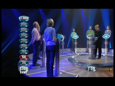 Weakest Link - 22nd March 2001