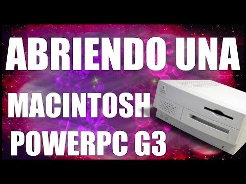 ¿QUÉ HAY DENTRO DE UNA MAC POWERPC G3? - www.logeek.net
