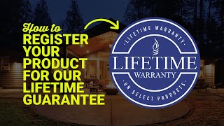 Register Your Product For Our Lifetime Guarantee. Protect Your Product In A Few Easy Steps.