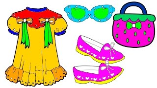 coloring pages dress shoes glasses handbag coloring book how to color by hibaby