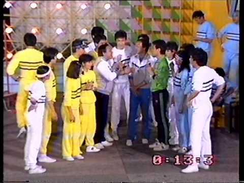 小虎隊(胡渭康 林利 孫明光) @活力群星奪錦標 1984 Part Two - YouTube