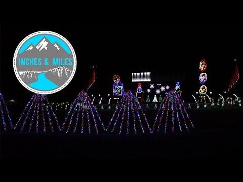 Polar Express - Lakeside Light Show 2016 - Fond du Lac, WI