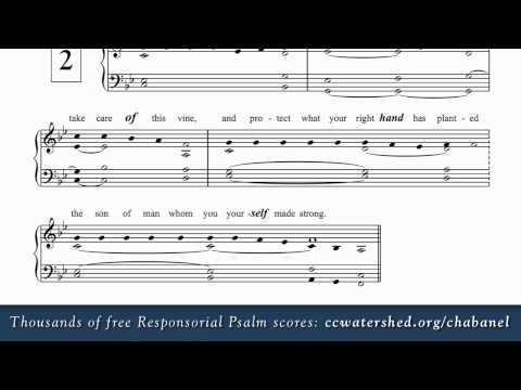 1st Sunday of Advent (Year B) • Free Responsorial Psalms • Organ Score PDF