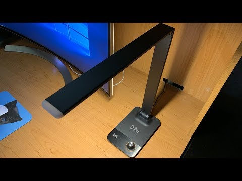 LightingEver Desk Lamp with Wireless Charger Review
