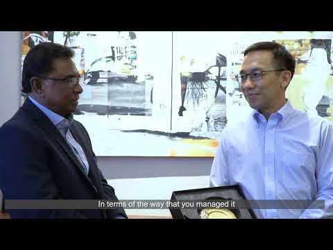 Close-up with Mr Chan Heng Kee, Permanent Secretary (Health), MOH
