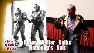 Peter Weller Talks Robocop