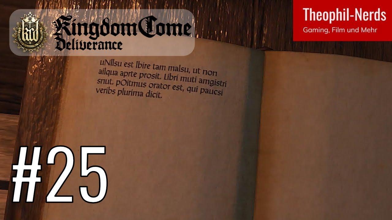 Kingdom Come Deliverance 25 Lesen Lernen Leicht Gemacht