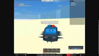 ROBLOX burnout 3 deathmatch nuke truck and spiked cop car