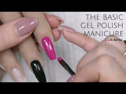 Basic Gel Polish Manicure