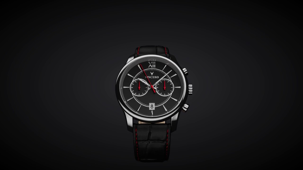 b930fd807e73 Vincero Watches  Meet The Bellwether Black   Red - YouTube