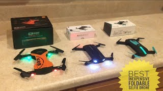 Best Foldable Selfie Drone