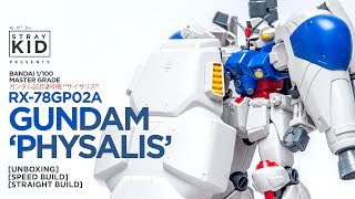 "Video Bandai MG RX-78-GP02A Gundam 'Physalis'  ガンダム試作2号機 ""サイサリス"" [Unboxing + Speed Build] by Stray Kid download MP3, 3GP, MP4, WEBM, AVI, FLV September 2018"