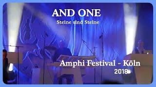 And One - Steine sind Steine (Live@Amphi 2018)