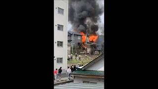 小樽市最上町一般住宅で火事 負傷者1名画像