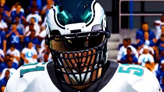 Madden 15 Player Franchise PS4 Gameplay - Liam Taylor Y1W2 - Overtime Action Huge Hits From Taylor