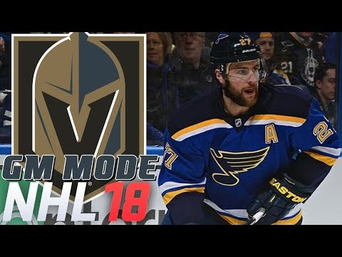 ALEX PETRIANGELO - NHL 18 - GM Mode Commentary - Vegas ep. 13