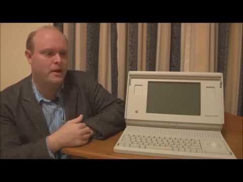 Apple Macintosh Portable (Backlit) (1991) Full Tour