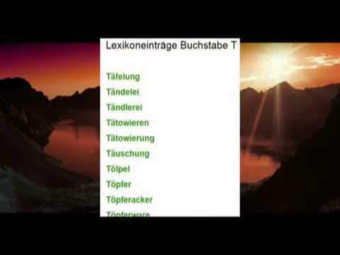Traumdeutung Lexikon - Suche - Traumdeutungen - Traumsymbole - Lexika