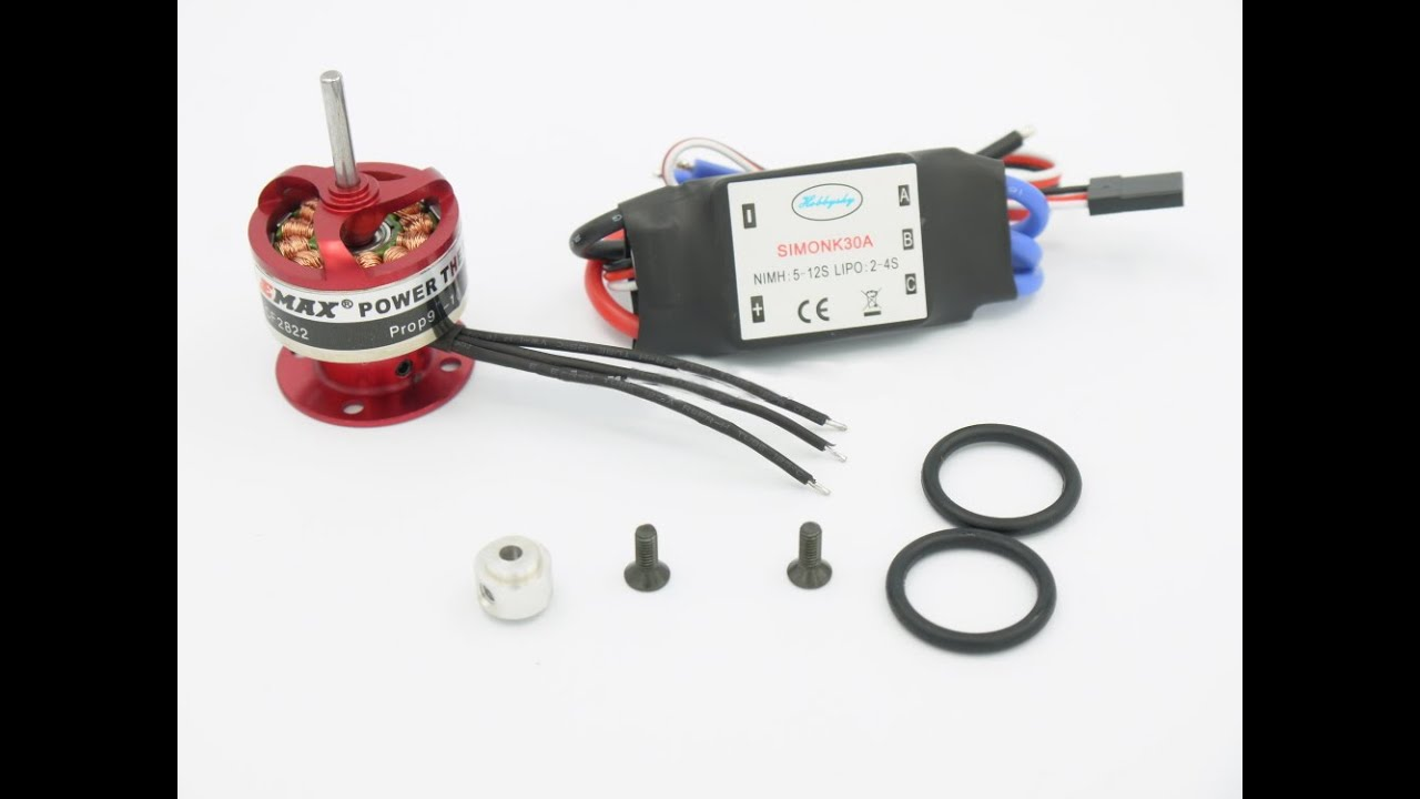 How to connect ESC to a Brushless Motor - YouTube