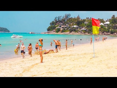 Kata Noi beach | Phuket beaches | Thailand Phuket travel blog [ENG SUB]