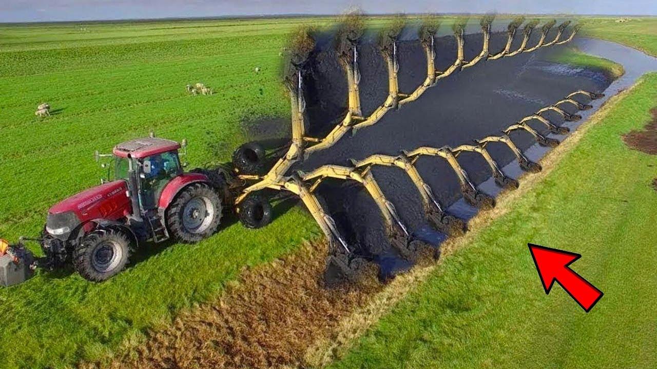 देखिये अमेरिका में ऐसे की जाती है खेती   Modern Technology Agriculture Huge Machines