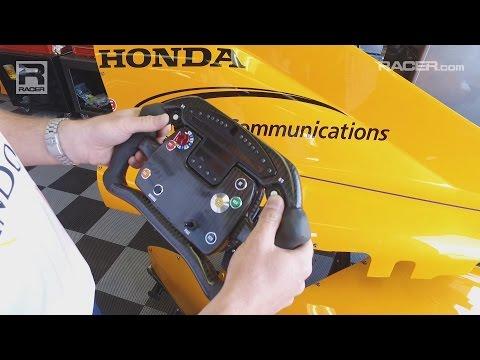 Indy 500: Fernando Alonso Car Tech--Weight Jacker