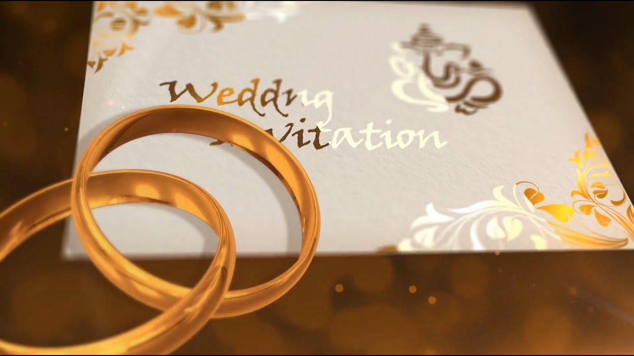 Wedding Invitation Video Best Wedding Invitation Video WD_9