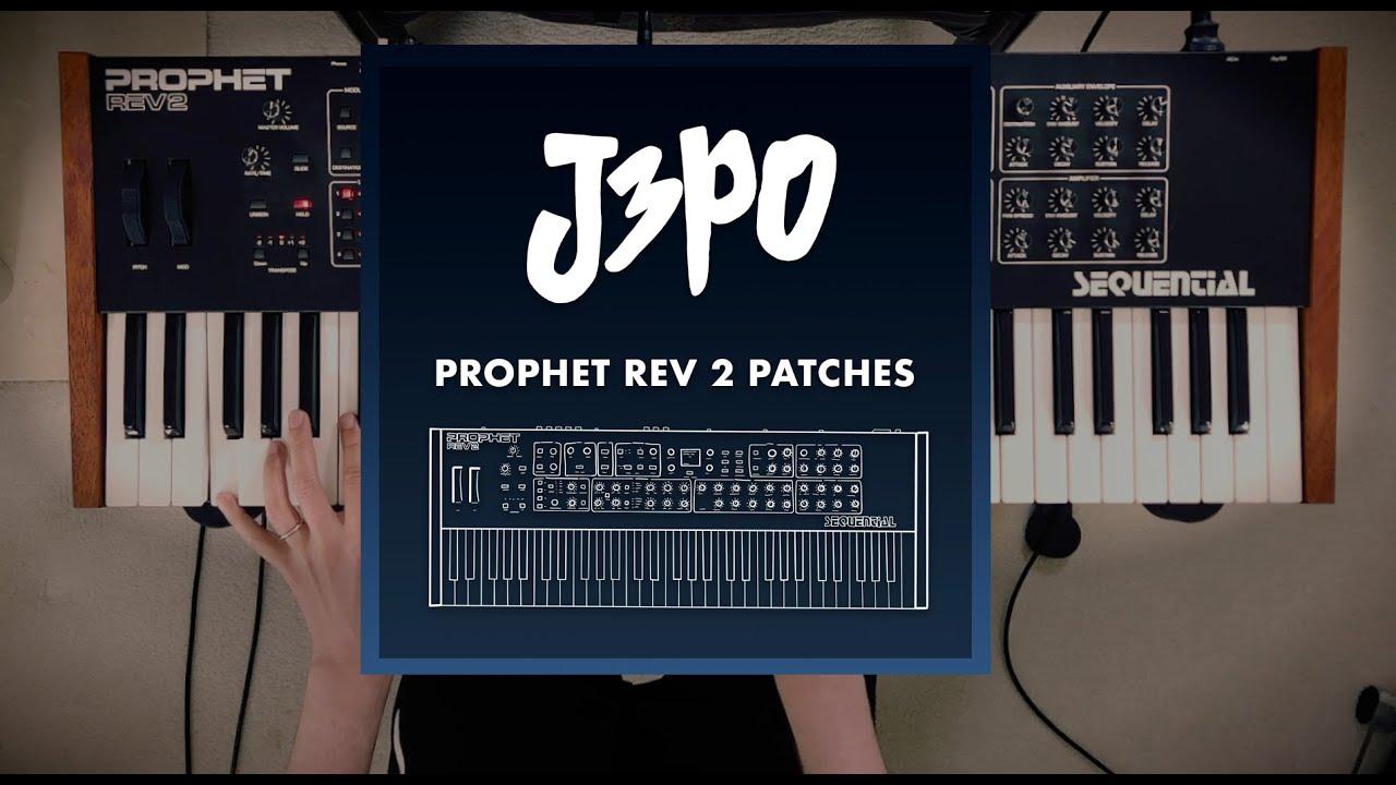 Download J3PO Prophet Rev 2 Patches - Official Sounds Demo