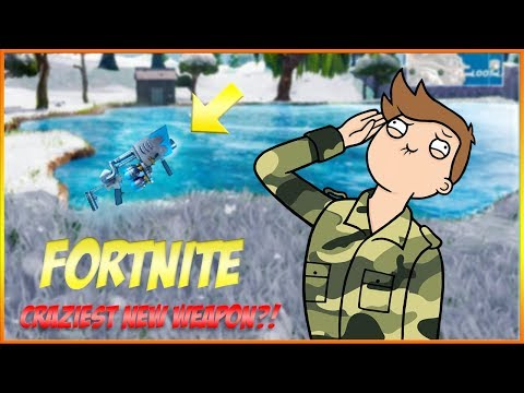 CRAZY NEW WEAPON?! Fortnite Battle Royale Update // Suppl Gaming