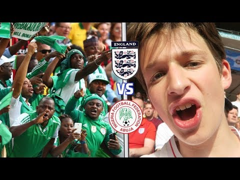 ENGLAND VS NIGERIA *VLOG* - NAIJA FANS HAVE WORLD CUP PARTY