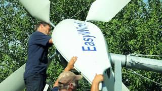 Aufbau einer EasyWind Kleinwindanlage