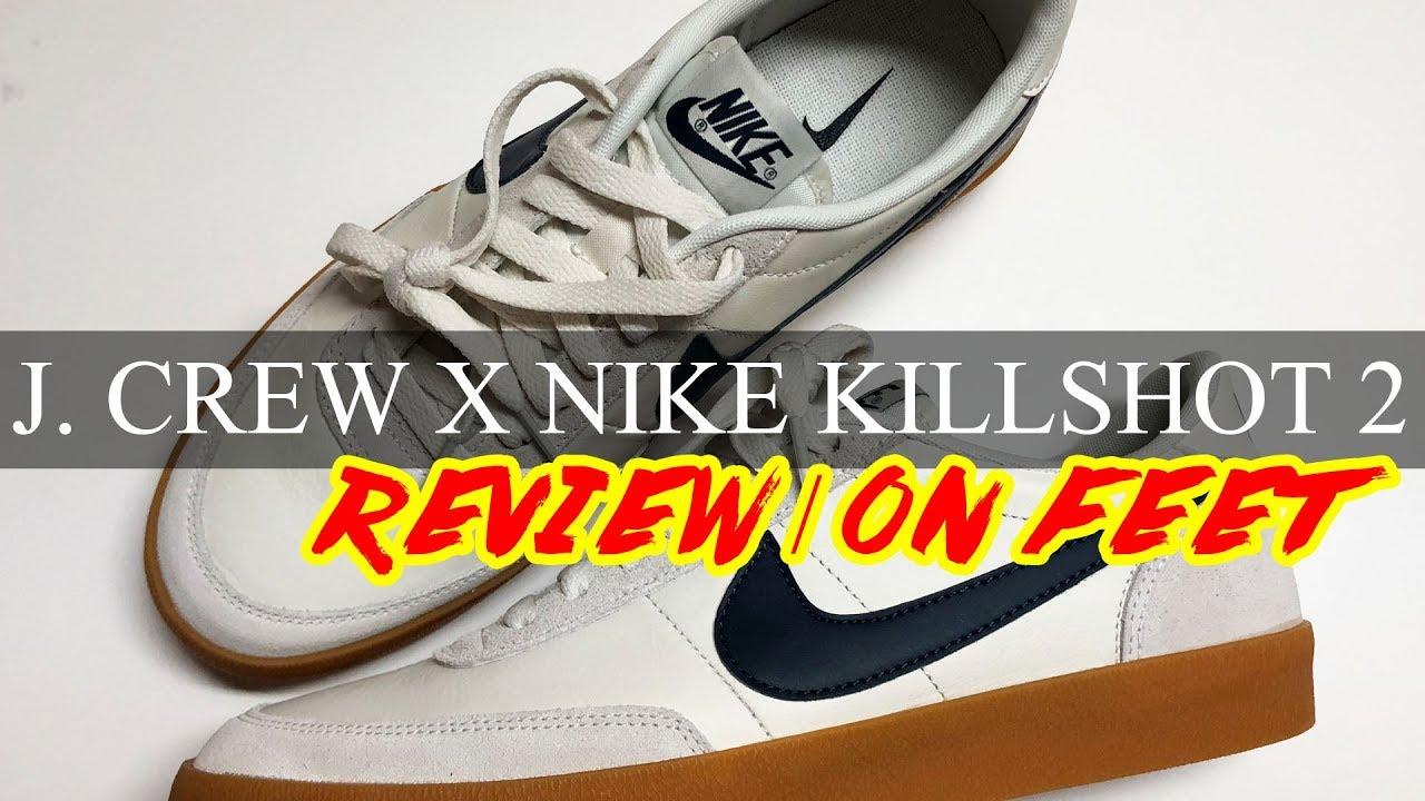 J. Crew x Nike KILLSHOT 2 Leather  6c0c73dd7