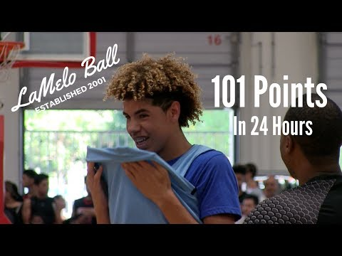LaMelo Ball Scores 101 Points in 24 Hours
