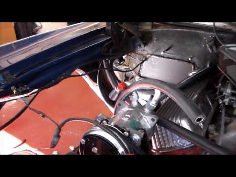 Vintage Air Installation Part # 5 Dash & Hoses on