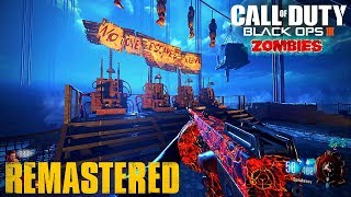 Mob Of The Dead Remastered - ALL EASTER EGGS GAMEPLAY + ULTIMATE EE GUIDE ! ( BO3 Custom Zombies )