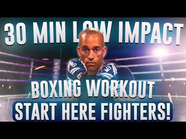 30 Minute Boxing Workout // All levels // Low Impact // NateBowerFitness