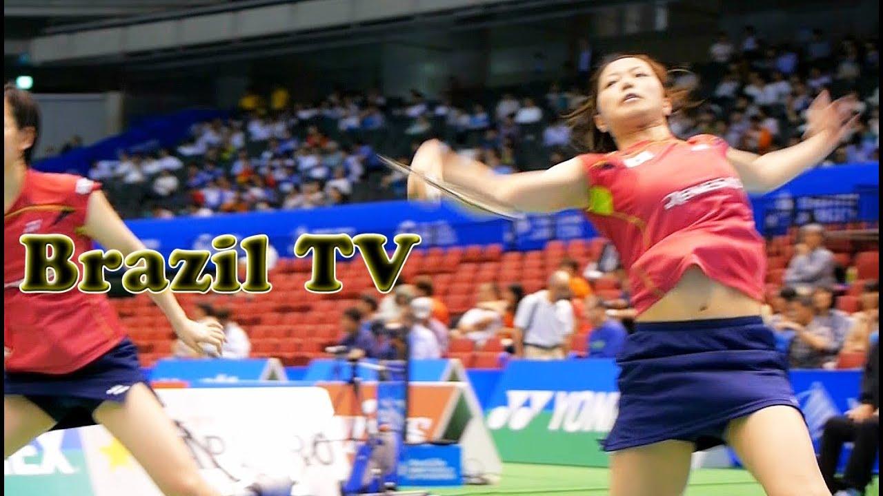 """Badminton 福島ç""""±ç´€ã€å £ç""""° Fukushima Yuki & Hirota"""