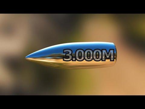 El supuestamente tiro mas largo de battlefield 4 (3000 metros) HD 60FPS