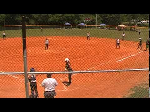 Ky Full Throttle Fastpitch 14U vs Aftershock Part 1 @ New Al