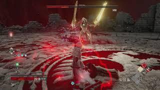 Code Vein - Gaol of the Stagnant Blood Mistle: Skull King Bossfight Gameplay Yakumo Coop (2019)