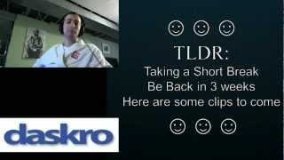 Daskro's Channel Update: Preview of What's to Come!