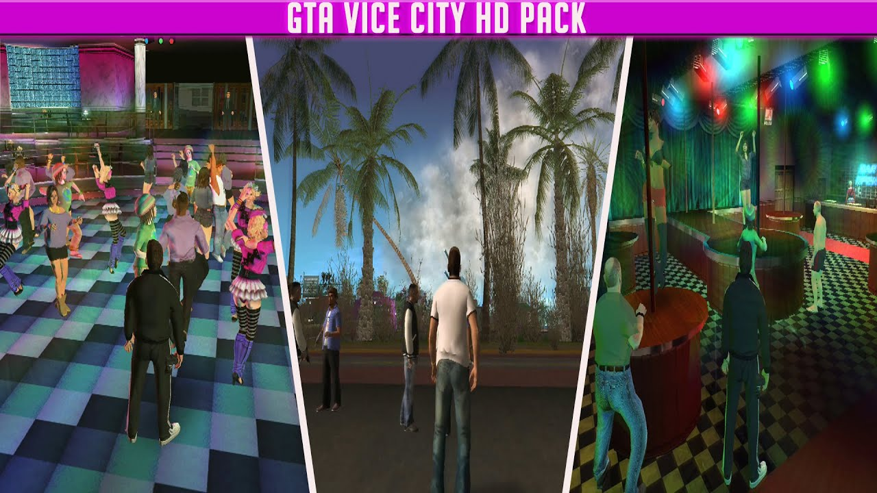 GTA Vice City HD Pack + Extras [Total Conversion Mod]
