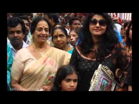 Tamil actress KR Vijaya with her family rare and unseen