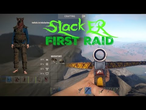 Slacker's First Raid on Rust