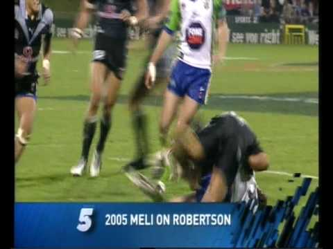 Top 13 NRL Big Hits of All Time