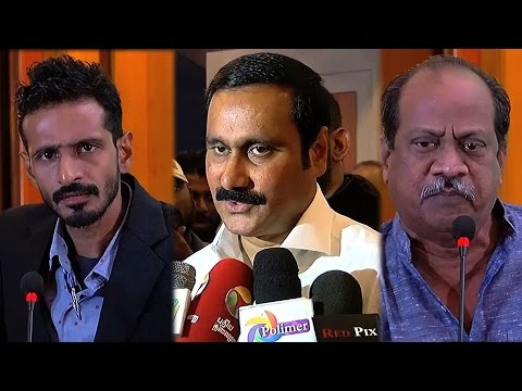 Alcohol Free Tamilnadu Political Debate - Anbumani Ramadoss & Others
